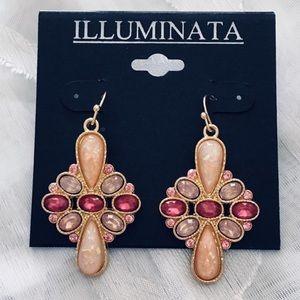 Jewelry - Exquisite Rhinestone Dangle Earrings